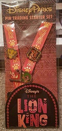 Disney Parks Lion King Pin Trading Starter - Disney King Pin