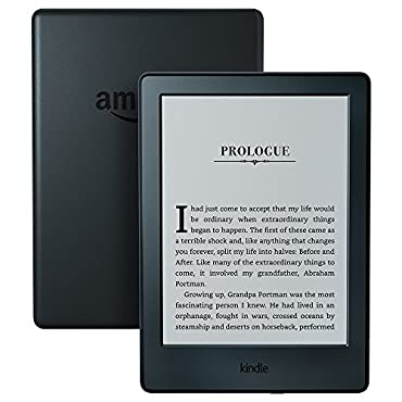 Kindle E-reader Black, 6 Glare-Free Touchscreen Display, Wi-Fi  Includes Special Offers