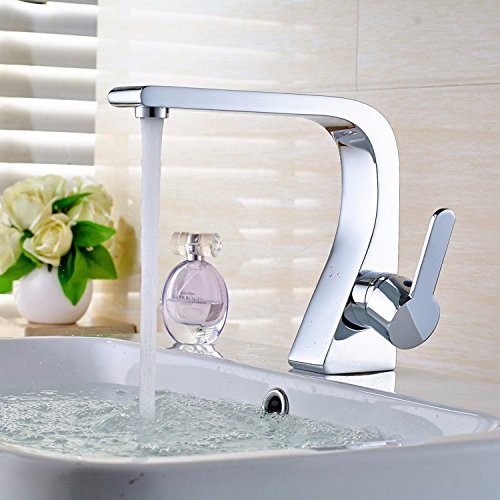 Tap-Sink Tap Stainless Steel Flume With Chrome Faucets And Hot Faucets