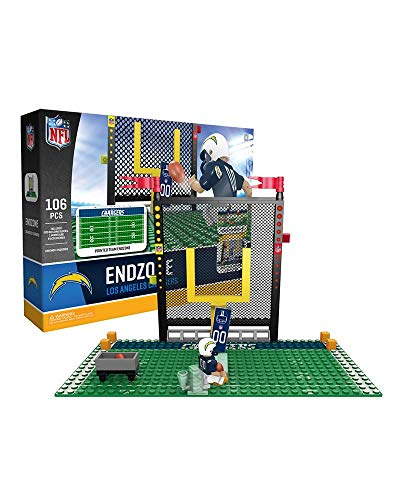 NFL P-NFLLACFS1-G4FB Los Angeles LA Chargers OYO Endzone Set 2.0 106 Pieces, Multicolor]()