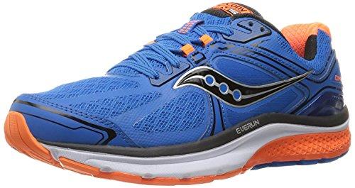 Saucony Mens Omni 15 Running Shoe, Blu (Blue/orange/black), 40 EU/6 UK