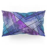 Society6 Night Shards Pillow Sham King (20'' x 36'') Set of 2