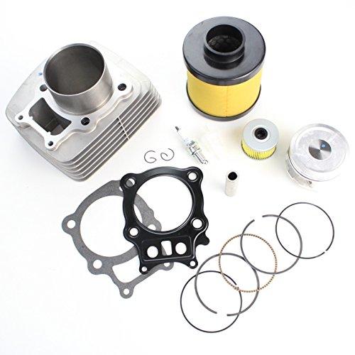 NICHE Cylinder Piston Gasket Filter Kit for Honda Rancher TRX350 2000-2006