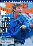 Spurrier, Steve 12/25/95 - 1/1/96 autographed magazine
