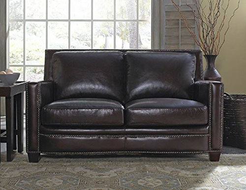 Lazzaro Simplicity Loveseat 60 By 40 By 34 Inch Cranberry Best Sofas Online Usa