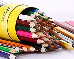 Zerlar 36 Piece Artist Grade Watercolor Water Soluble Colored Pencil Set