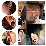 36pcs Silicone Ear Gauges Flesh Tunnels Plugs