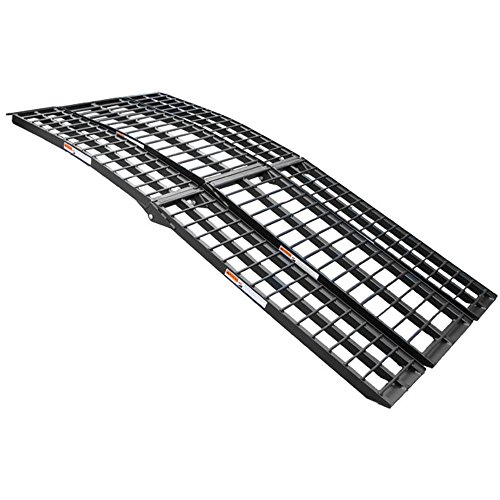 (Motoproducts 94 Inches Long Folding ATV QUAD 4 Wheeler Motorcycle Loading Ramp)