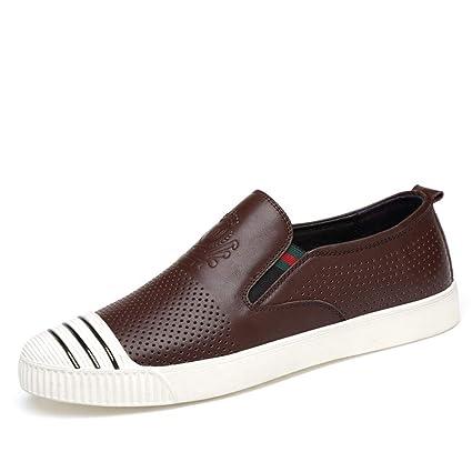95554378d2f07 Amazon.com: Weixiao Men's Hole Shoes, Casual Deck Shoes Soft Bottom ...