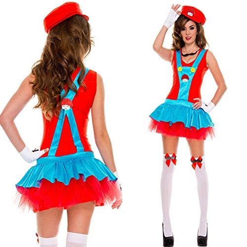 GQ Super Mario Halloween-disfraz Cosplay decoraciones de bar ...