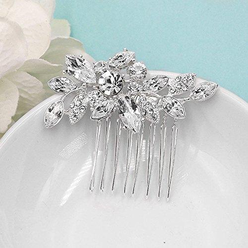 Arianna Swarovski Crystal Petite Wedding Hair Comb (Arianna Crystal)