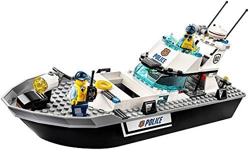 Amazon.com: LEGO City Police Patrol Boat 60129: Toys & Games