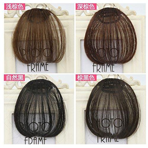 Costume wig bangs wig piece dress big push Republican corrugated retro big wave of fake bangs hair piece