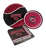 University of South Carolina Party Supply Pack! Bundle Includes Paper Plates & Napkins for 8 Guests
