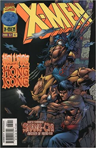 X-Men (2nd Series) #62 (Shang Chi cover)