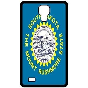 South Dakota SD State Flag Black Samsung Galaxy S4 i9500 Cell Phone Case - Cover