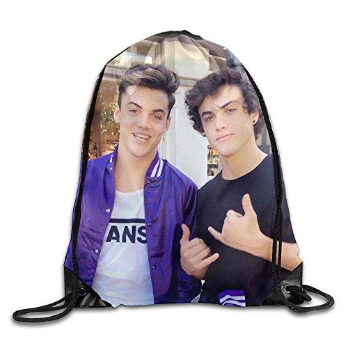 TianJunXinGuo Dolan Twins Drawstring Backpack Rucksack Shoulder Bags Gym Bag