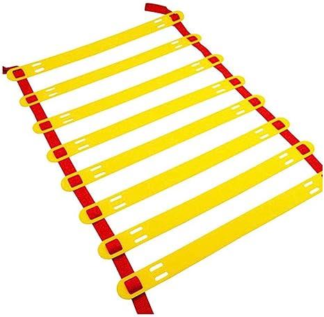 YLOVOW Escalera Escalera de Agilidad Peldaño de Agilidad Escalera de Velocidad para Entrenamiento de Velocidad de fútbol Escalera Entrenamiento de Ritmo Accesorios Deportivos,8meters16knots: Amazon.es: Deportes y aire libre