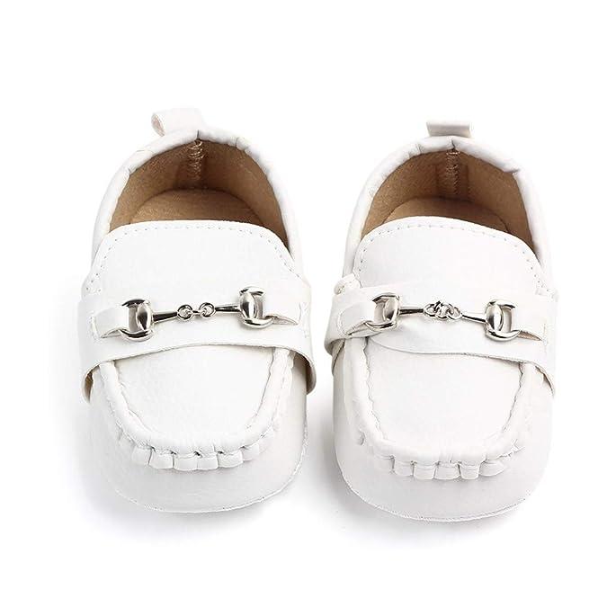 bbede4204a1a78 Binggong Chaussure Bateau Mocassin Enfant Bébé Loisirs Confort Chaussures  Fille Garçon Cuir Suédé Plates Oxford Mode Princesse Chaussures: Amazon.fr:  ...