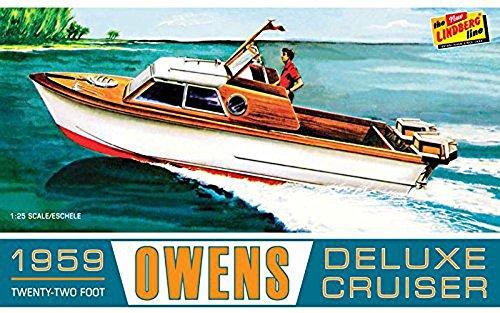 Outboard Cruiser - Lindberg Owens Outboard Cruiser Boat, LND222