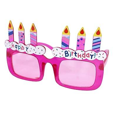 Amazon.com: Gafas de fiesta divertidas con forma de feliz ...