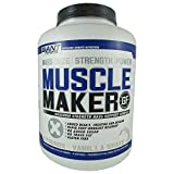 Giant Sports Muscle Maker Nutrition, Vanilla, 6 Pound