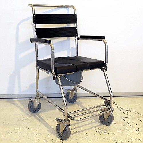 Amazon.com: MedMobile® Acero inoxidable ducha silla de ...