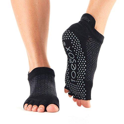 Low Half Rise Grip Socks Toe Onyx Toesox q18WBEn8