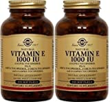 Cheap Solgar – Vitamin E 1000 IU (d-Alpha Tocopherols & Mixed Tocopherols) 100 Mixed Softgels- 2 Pack