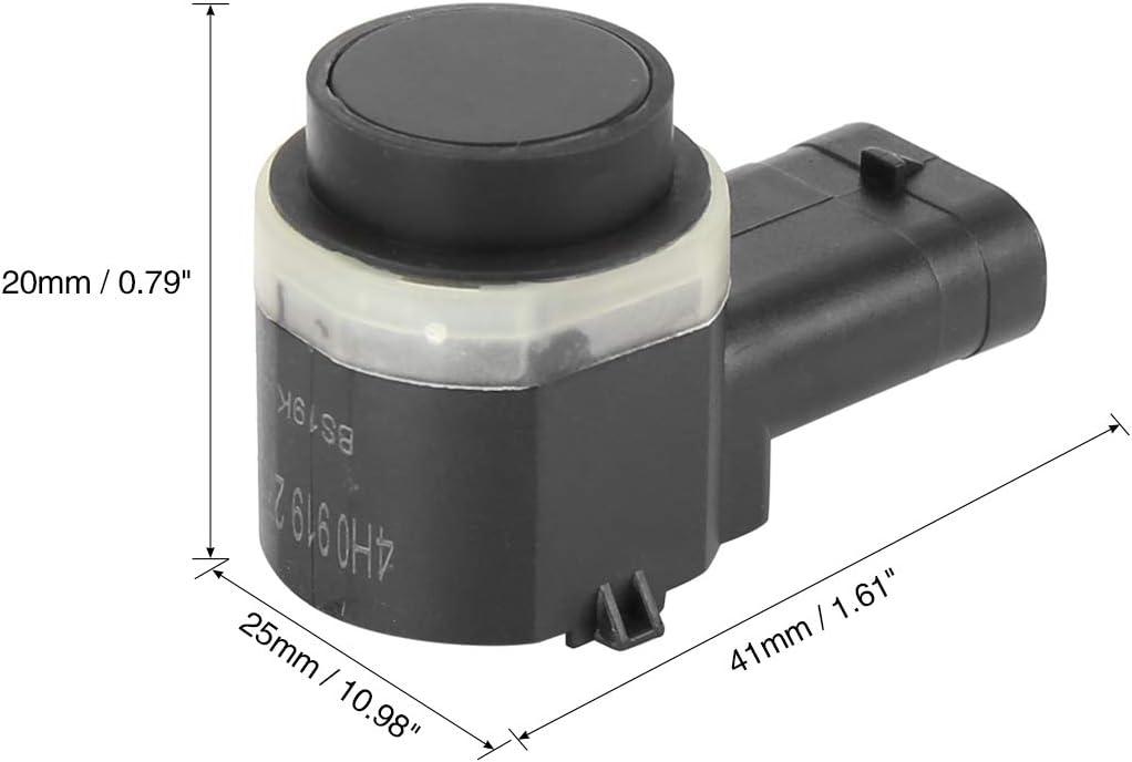 X AUTOHAUX 4pcs Car Reverse PDC Parking Assist Sensor 4H0919275 for 2013-14 Audi A4 A5 Q3 S4 S5