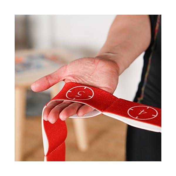 Ultrasport Nastro elastico, fitness per casa e palestra, adatto per pilates, ginnastica e stretching, lavabile in… 5 spesavip