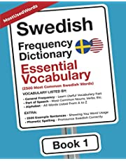 Swedish Frequency Dictionary - Essential Vocabuary: 2500 Most Common Swedish Words
