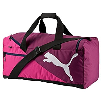 54cdd9f893 Puma Fundamentals Sports Bag Size M magenta purple fuchsia Purple-26.5x  17.5x