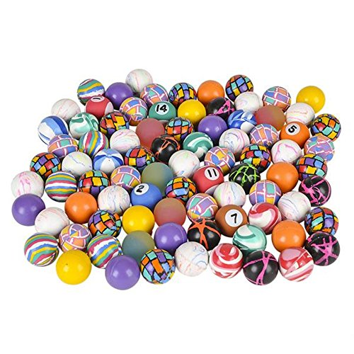 Bulk High Bounce Rubber Ball Assortment - (High Bounce Ball Assortment)