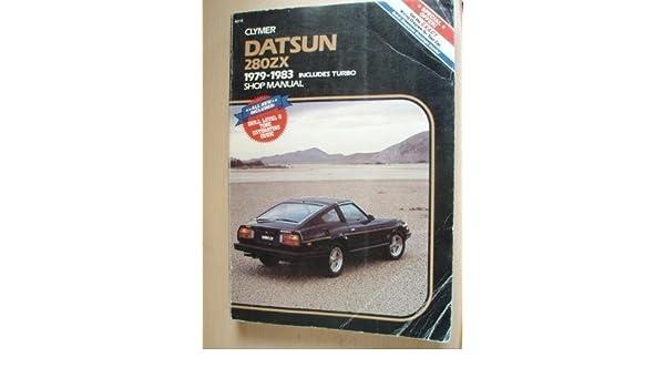 Datsun 280Zx, 1979-1981, Includes Turbo, Shop Manual: Alan Ahlstrand: 9780892873463: Amazon.com: Books