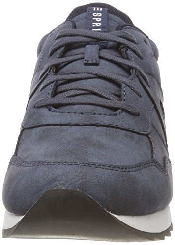 Top 400 Sneakers Blue up Lace Navy Women's ESPRIT Low Astro H4AnX