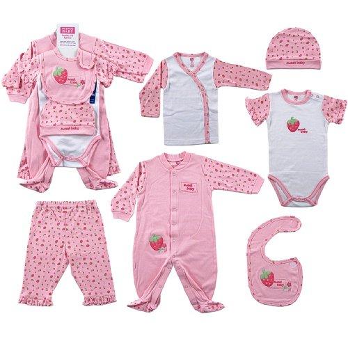 Hudson Baby 6-Piece Sweet Baby Layette Set