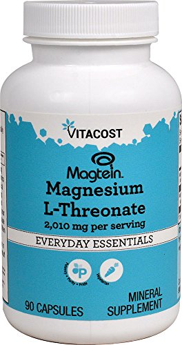 Vitacost Magtein Magnesium L-Threonate — 2000 mg – 90 Vegetarian Capsules Review