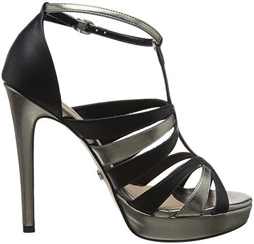 Multicolore Plateforme black Gaudì Sandales V8401 Femme pewter Caylie 7OInqTnCwA