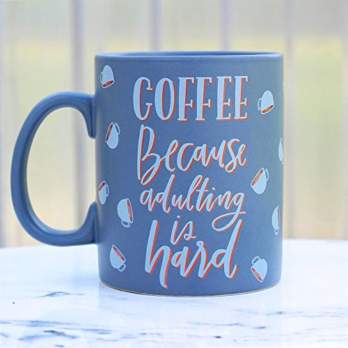 Primitives by Kathy | Coffee Because Adulting is Hard Coffee Mug
