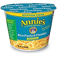 12-Pack Annie's Gluten Free Rice Pasta & Cheddar Microwavable Macaroni & Cheese 12 Cups 2.01oz