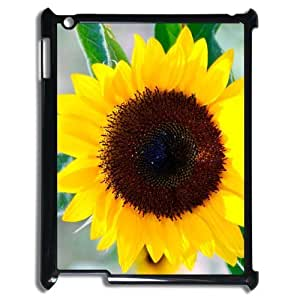 Generic Cell Phone Case For Ipad 3 case iPad 2 4 case Blooming Sunflower Pattern