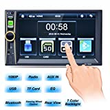 Best Backlight Touchscreen For Cars - Hohaski Double Din Car Stereo, 7 Inch Review