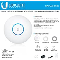 Ubiquiti UAP-AC-PRO Unifi AP AC PRO 802.11ac Dual-Radio Pro Access Point