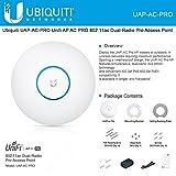 unifi ap pro ac - Ubiquiti UniFi UAP AC PRO 2.4GHz/5GHz, 802.11 a/b/g/n/ac, 2xGbE, support PoE+