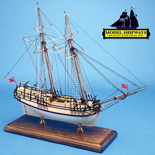 Model Shipways 1:64 Sultana Solid Hull Colonial Schooner 1767 Wooden Kit #2016