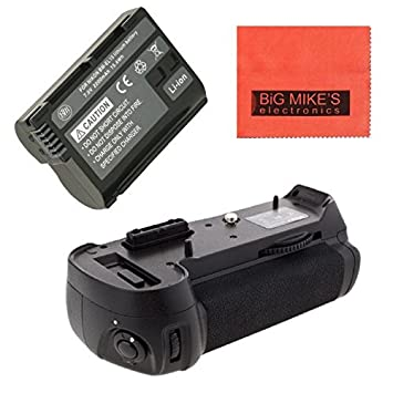 Battery Grip Kit for Nikon D750 DSLR Camera -Includes