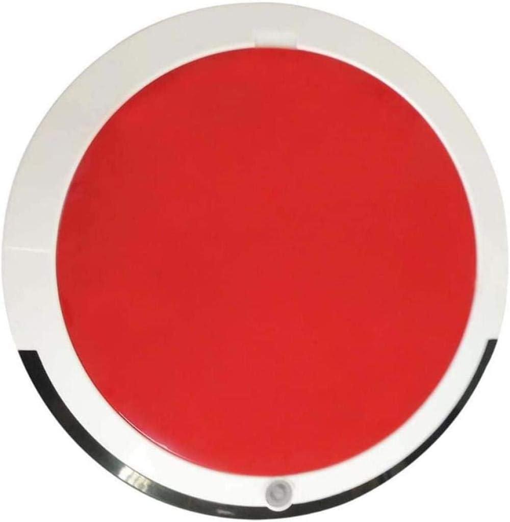 GSWF_OOEFC Robot de Balayage Machine de Nettoyage Domestique Paresseux aspirateur Intelligent Cadeau d\'appareil ménager-Rouge Rouge