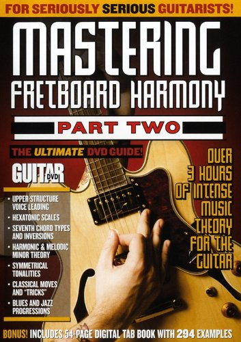 Jimmy Brown - Guitar World: Mastering Fretboard Harmony Part Two (DVD)