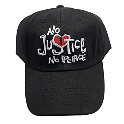 Guangping Liu No Justice No Peace Dad Hat Baseball Cap Embroidered Adjustable